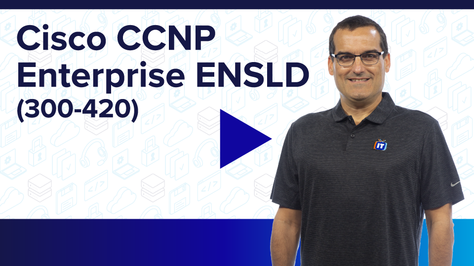 Cisco CCNP Enterprise ENSLD