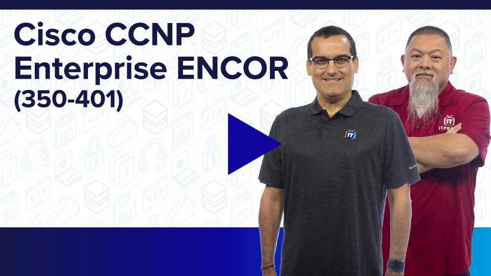 Cisco CCNP Enterprise ENCOR