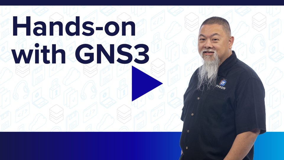 Hands-on with GNS3