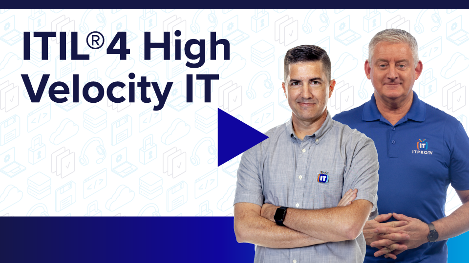 ITIL 4 High Velocity IT
