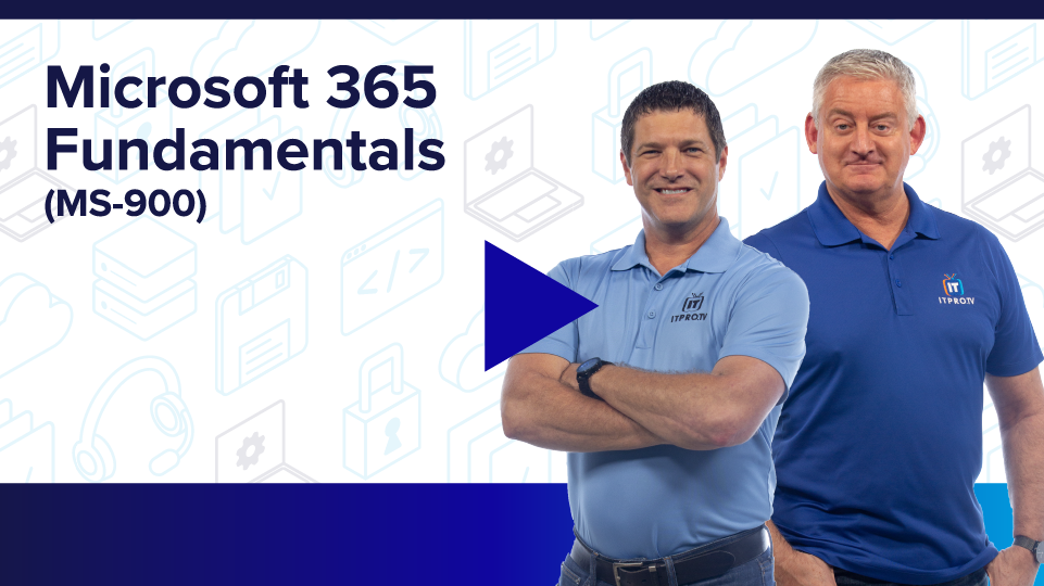 Microsoft 365 Fundamentals (MS-900)