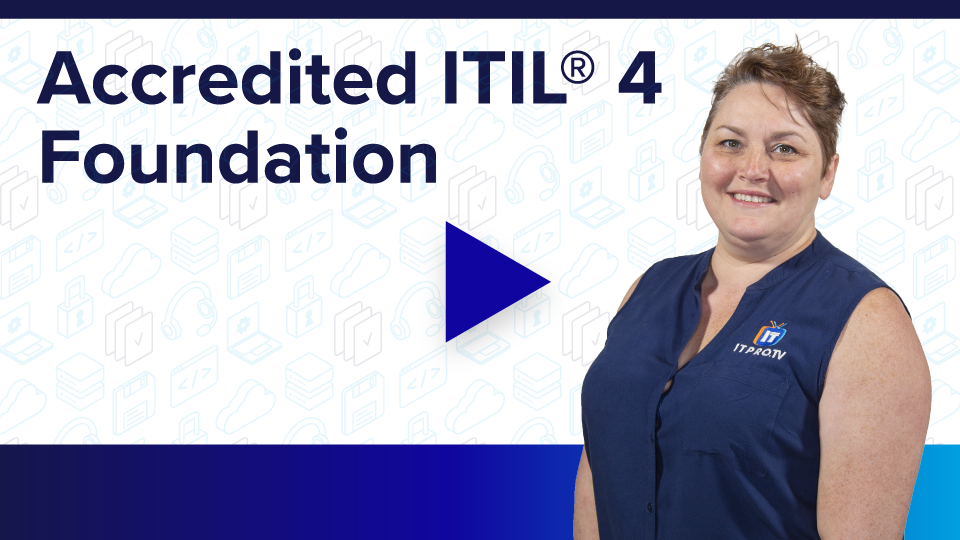 Accredited ITIL 4 Foundation